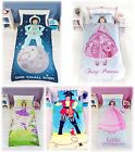 Kids Childrens Girls Boys Fun Character Single Bed Size Duvet Cover Quilt Set