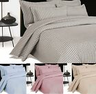 Ark Soft Stripe Embroidered Bedspread Throw Or Pillow Sham Or Complete Set