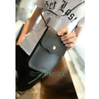 Unisex Leather Cell/Mobile Phone Crossbody Messenger Shoulder Bag Pouch Purse