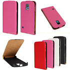 New Fashion PU Leather Pouch Flip Case Cover Skin For Samsung Galaxy S5 V i9600