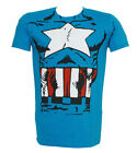 Marvel Heroes Captain America Costume T-Shirt