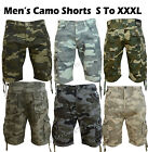 Smith & Jones mens camouflage Combat Army Cargo shorts