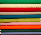 """44/45"""" Broadcloth 100% Cotton Fabric - 25+ Colors Available"""