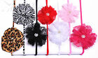 Soft Lace Flower Headband Hair band Accessories Baby Girls Lady Gift Christening