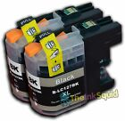 2 Compatible LC123 Non-oem Ink Cartridges for Brother -any Colour