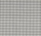 French Country Gingham Check Brindle Gray Large Neck Roll De