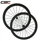 700C 50mm Clincher carbon bike wheels Rim Brake carbon road wheelset