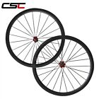 23mm Width 38mm Tubular carbon road racing wheelset