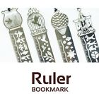 Stainless Steel Ruler / Bookmark 3 in 1 in 4 Fairytale styles
