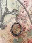 Large Floating Charm Locket with Chain and Free Origami Owl Locket Charms