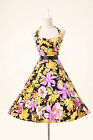 Chic Bandage Halter Vintage 50s 60s Rockabilly Swing Party Prom Summer Tea Dress