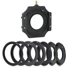 Cokin filter holder+1 Metal Adapter ring for Lee Hitech Cokin Z 52/58/62/77/82mm