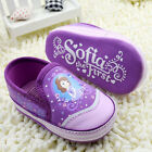 Purple!Infant Baby Girls Snow White Crib Shoes Soft Sole Sneakers /B5
