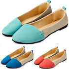 Fashion Flat Loafers Casual Comfort Women Girl Shoes Ballet Low Heels 3 Colors