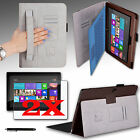 "For Microsoft Surface RT Surface 2 10.6"" Cover Case w/ Hand Strap + Accessories"