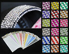 990 4mm Rhinestone Self Adhesive Diamond stick on Flatback Diamonte Gem Nail Art