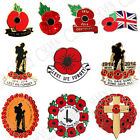 100 YEARS CENTENARY POPPY WREATH SOLDIER CROSS LAPEL PIN BADGE REMEMBRANCE PEACE