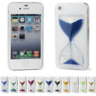 Cute Crystal Clear Hourglass Hard Back Fitted Cover Case For Apple iPhone 4S