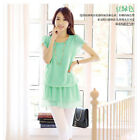 New Style Spring And Summer Fashion Women's Loose Chiffon Shirts Ladies Blouses