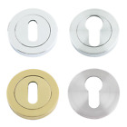 Key Hole Cover Escutcheon Standard Euro Profile Door Lock Covers 50mm