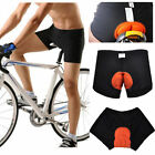 Men Cycling Underwear Gel 3d Padded Bike Bicycle Riding Shorts Pants M-xxl Uk