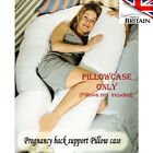 New Polycotton CASE for 9 Ft / 12 Ft Maternity Pregnancy COMFORT U/ V Pillow