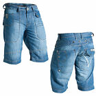 Mish Mash 2135 Bea Sting Mens New Denim Summer Shorts Size 28W Was £59.99