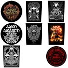 Amon Amarth Sew On Back Patch/Patches NEW OFFICIAL. Choice of 7 designs