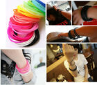 5pcs Fashion Trendy Unisex Silicone Bracelets WristBand Fancy Bracelet JW170
