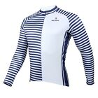 New Mens cycling jersey long sleeve Biking Clothing Wear Paladinsport Navy S-3XL