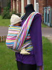 BABY SLING WOVEN 100% COTTON WRAP CARRIER STRIPEY STRIPES SPRING SUMMER