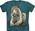Tiger Gaze Adult  Animals Unisex T Shirt The Mountain