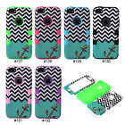 New Unique Anchor 3 in 1 Hybrid PC Silicone Back Case Cover Skin For iPhone 5C