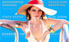 "LANA DEL REY LARGE 35"" x 25"" MOSAIC WALL POSTER SUMMERTIME SADNESS BLUE JEANS"