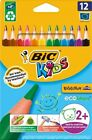 12 Buntstift BIC Kids ECOlutions EVOLUTION Triangle extra dicke Buntstifte NEU