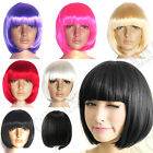 NEW SEXY FASHION LADIES BOB STYLE SHORT WIG PARTY FANCY DRESS COSTUME COSPLAY