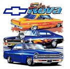 1962 - 1972 Chevy Nova - Chevy II T-Shirt - Generations 1, 2 & 3 - Super Nova