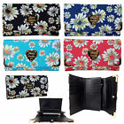 Anna Smith by LYDC Ladies Girls Flower (Floral Daisy) Print Purse/Clutch