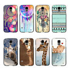 Vintage Dream Cather Cute Giraffe Hard Pattern Case For Samsung Galaxy S5 I9600