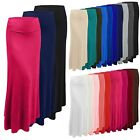 NEPEOPLE Premium Multi Color Foldover Jersey Lightweight Long MAXI Skirt NEWSK05