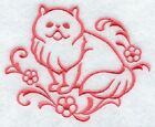 CAT BLANKET EMBROIDERED 4 COLOURS 9 BREEDS BNWT PERSIAN