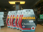 MAXIMA CHAMELEON RED 'ONE SHOT' SPOOLS CARP AND COURSE FISHING LINE
