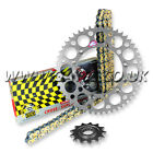 KTM EXC 380 EXC 1998-2002 REGINA RX3 PRO CHAIN AND RENTHAL SPROCKET KIT SILVER