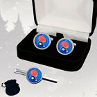 TABLE TENNIS PING PONG MEN'S CUFFLINKS / TIE SLIDE SET + GIFT BOX