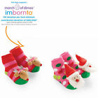 Mud Pie Holiday Christmas Rattle Toe Socks #1542062