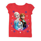 Disney Frozen Group Shot Toddlers Red T-Shirt