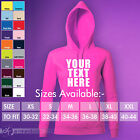 Custom Personalised Design Your Own Hoodie Stag Hen Holiday Dance Womens SG27F