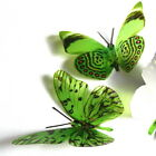 3D Butterflies - Lime Green -  Weddings, Invitations, Cards, Cakes, Toppers