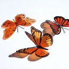 3D Butterflies - Orange -  Weddings, Invitations, Cards, Cakes, Toppers
