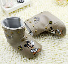 Baby Girl boy Mickey cortex  cotton shoes Crib Shoes Boots sizes 0-18 Months/U5